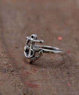 古着Silver Ring Anchor | アンカー モチーフ シルバーリング 古着のネット通販 古着屋グレープフルーツムーン