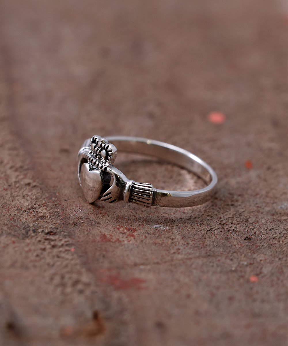 Silver Ring Claddagh Small |スモール クラダリング シルバーサムネイル