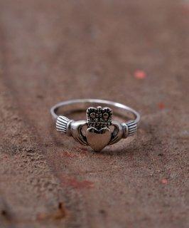 古着Silver Ring Claddagh Small |スモール クラダリング シルバー 古着のネット通販 古着屋グレープフルーツムーン