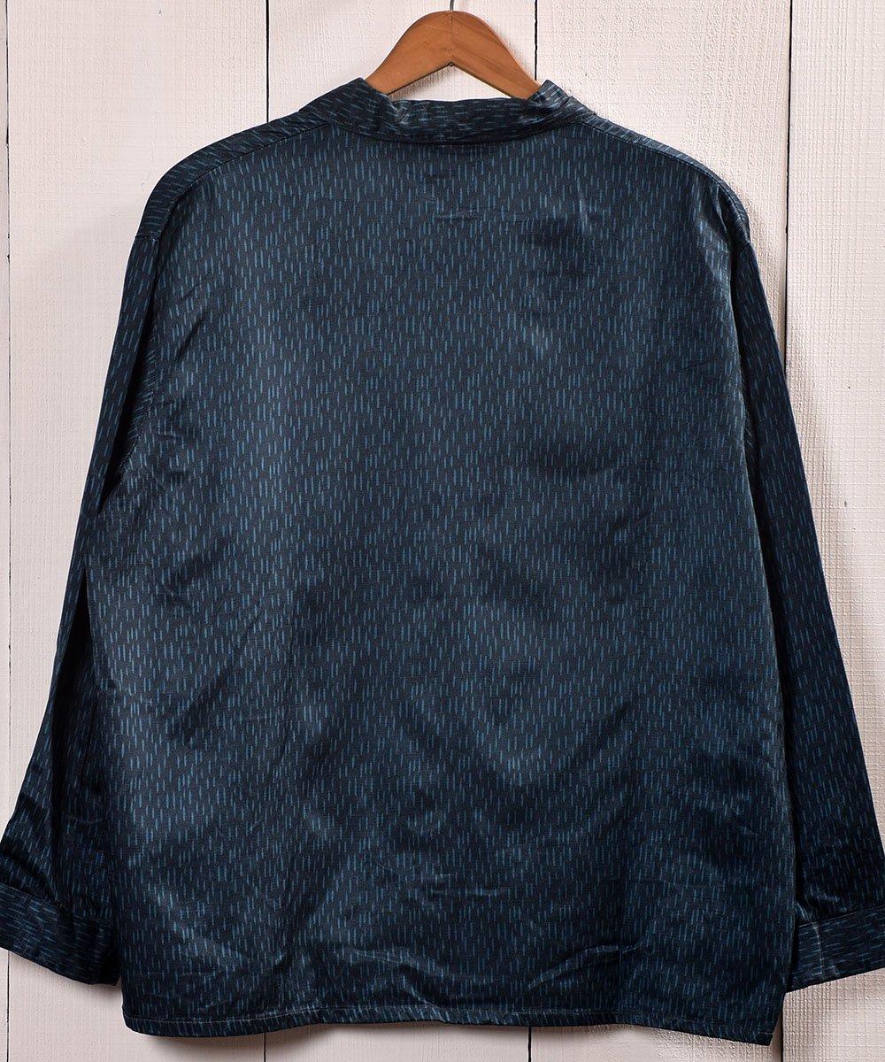 Made in Europe Rainy Pattern Pajamas Shirt |ヨーロッパ製 レイニーパターン パジャマシャツサムネイル
