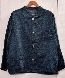 古着Made in Europe Rainy Pattern Pajamas Shirt |ヨーロッパ製 レイニーパターン パジャマシャツ 古着のネット通販 古着屋グレープフルーツムーン