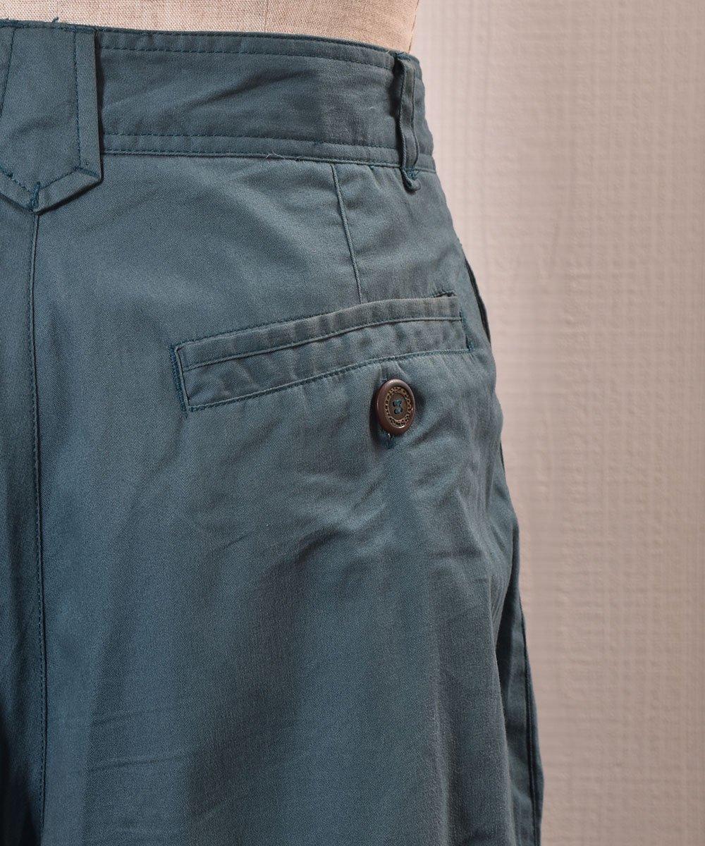 All Cotton Fabric Design Slacks|コットン素材デザインスラックス ヨーロッパサムネイル