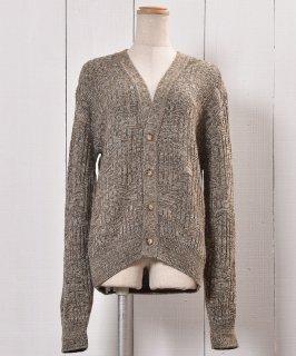 古着Made in USA Knit Cardigan |アメリカ製 ニットカーディガン  古着のネット通販 古着屋グレープフルーツムーン