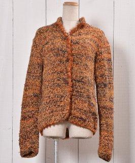 古着Made in Europe Knit Cardigan |ヨーロッパ製 ニットカーディガン  古着のネット通販 古着屋グレープフルーツムーン