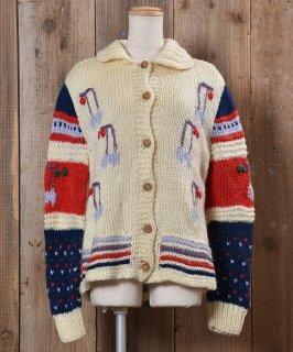 古着Wood Button Cardigan |カーディガン ウッドボタン 古着のネット通販 古着屋グレープフルーツムーン