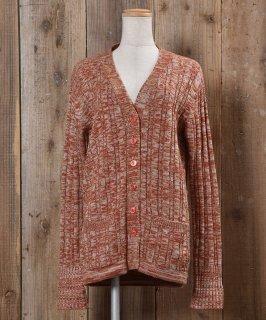 古着Long Sleeve Knit Cardigan |ロングスリーブ ニットカーディガン 古着のネット通販 古着屋グレープフルーツムーン
