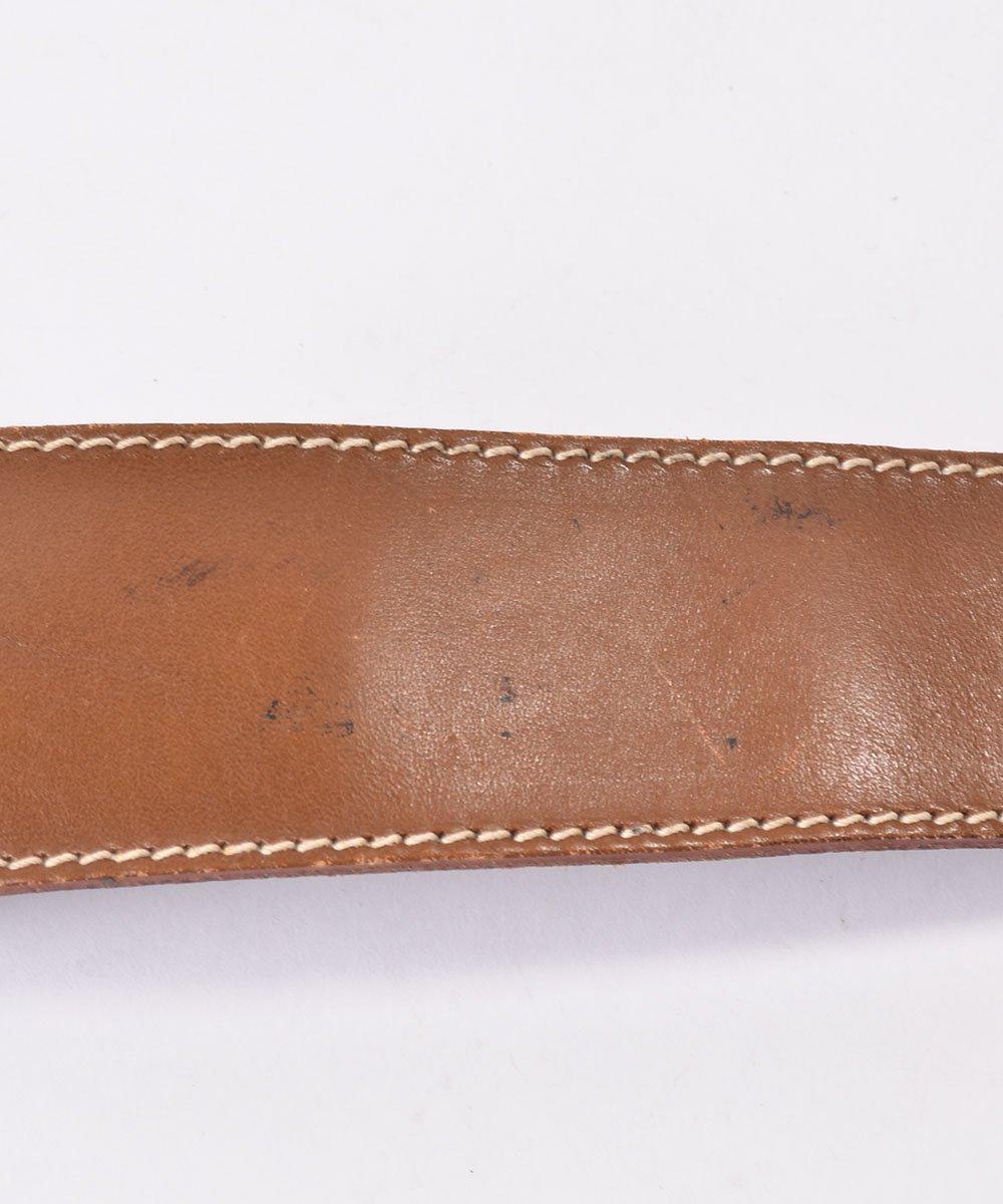 レザーベルト ワイド|Leather Wide Belt サムネイル