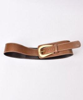 古着レザーベルト ワイド|Leather Wide Belt  古着のネット通販 古着屋グレープフルーツムーン
