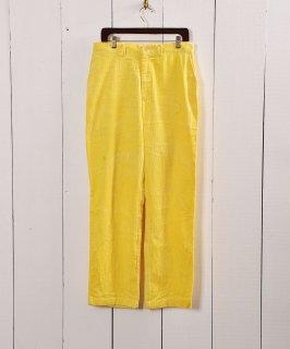 古着太畝コーデュロイ 5ポケットパンツ イエロー W32|5 Pockets Corduroy Pants Yellow 古着のネット通販 古着屋グレープフルーツムーン