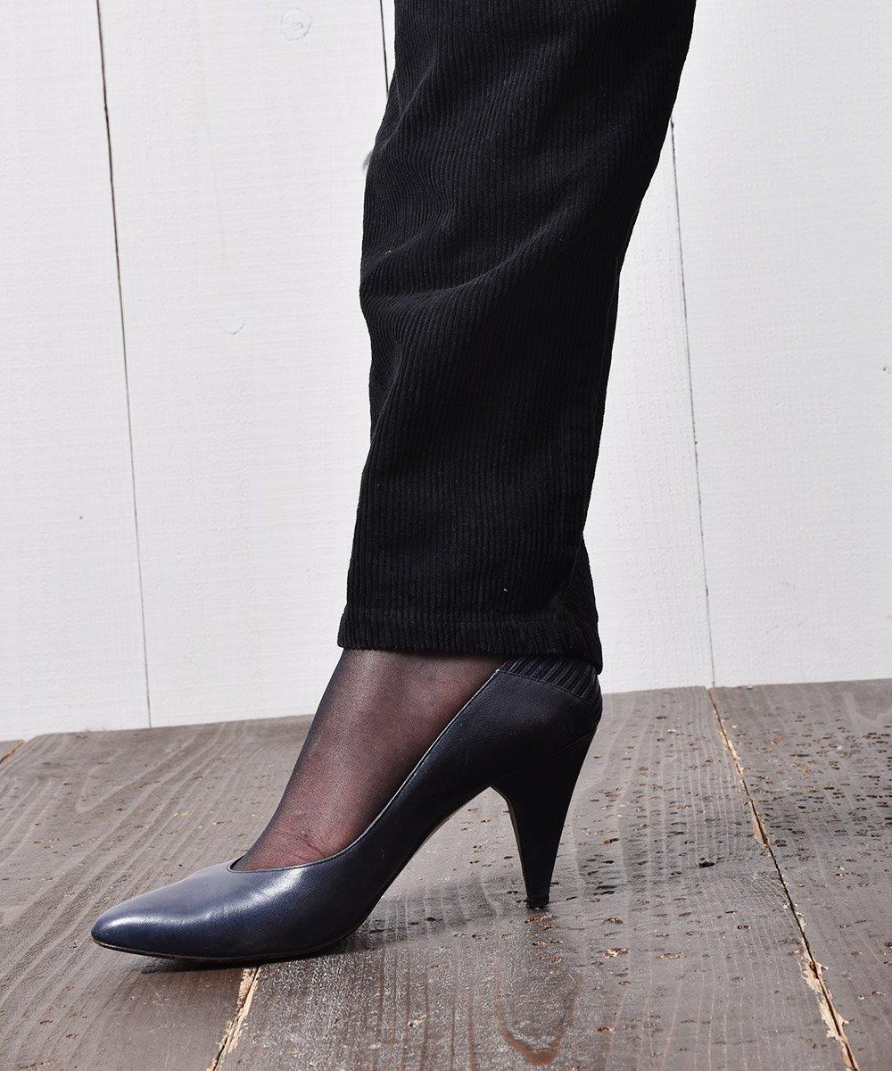 コーデュロイパンツ 無地 ブラック|Corduroy Pants Plain  Blackサムネイル