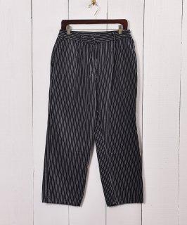 古着ドイツ軍 ストライプワーク パンツ|German Military Stripe Work Pants 古着のネット通販 古着屋グレープフルーツムーン