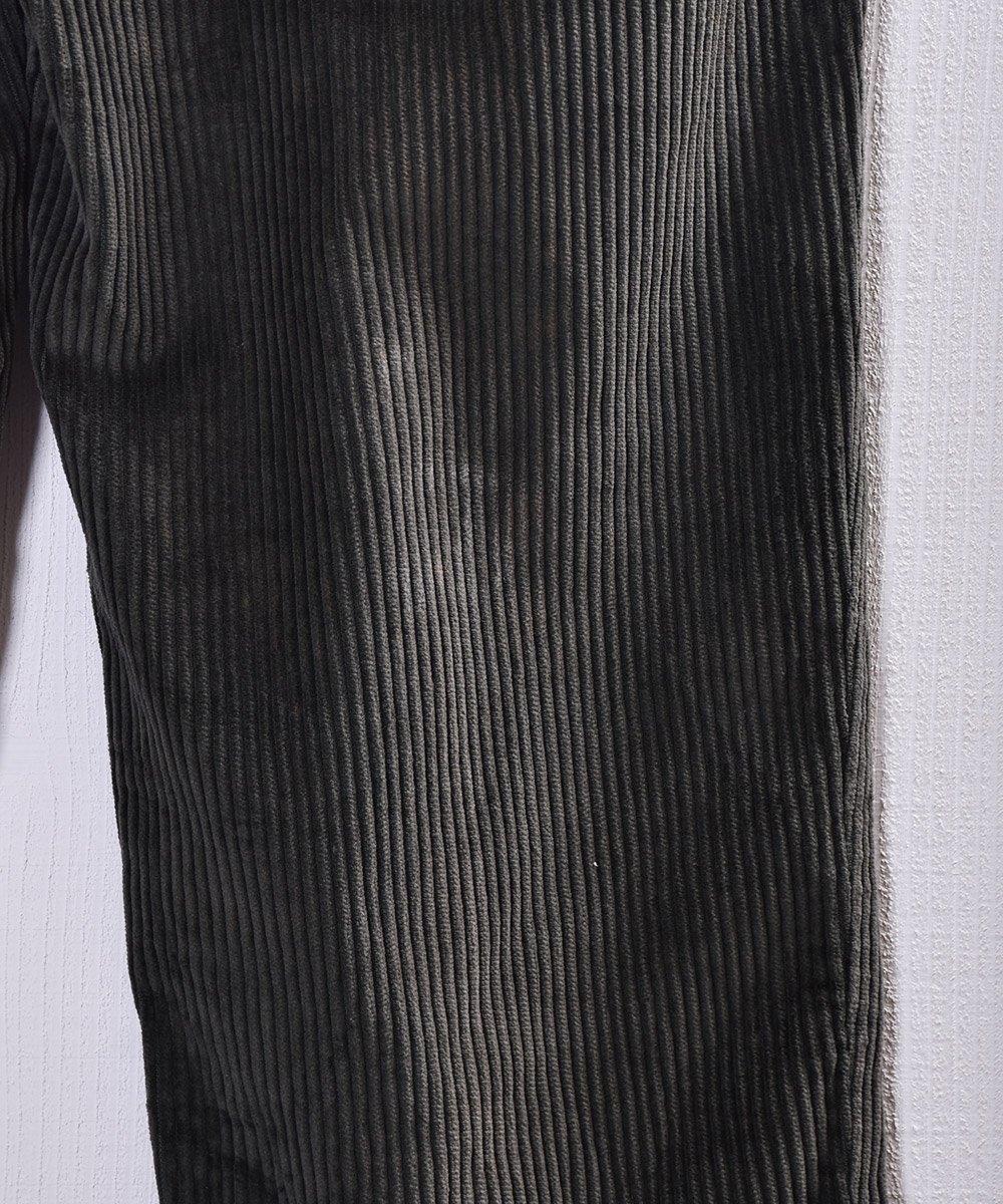 太畝 コーデュロイ タック パンツ|Wide Wale Corduroy Tuck Pantsサムネイル