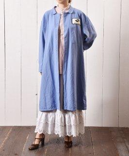 古着ショップコート パッチ ブルー 古着のネット通販 古着屋グレープフルーツムーン