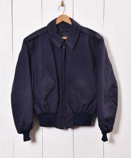 古着中綿入りミリタリーブルゾン ショート丈ジャケット 古着のネット通販 古着屋グレープフルーツムーン