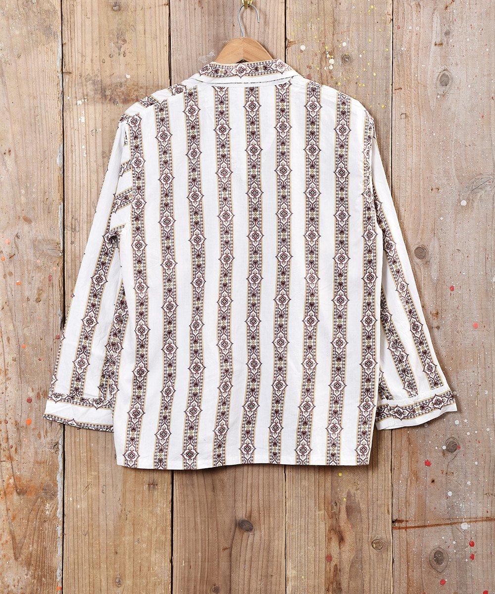 タペストリー柄 パジャマシャツサムネイル