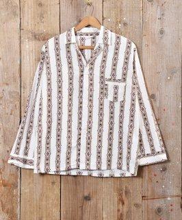 古着タペストリー柄 パジャマシャツ 古着のネット通販 古着屋グレープフルーツムーン