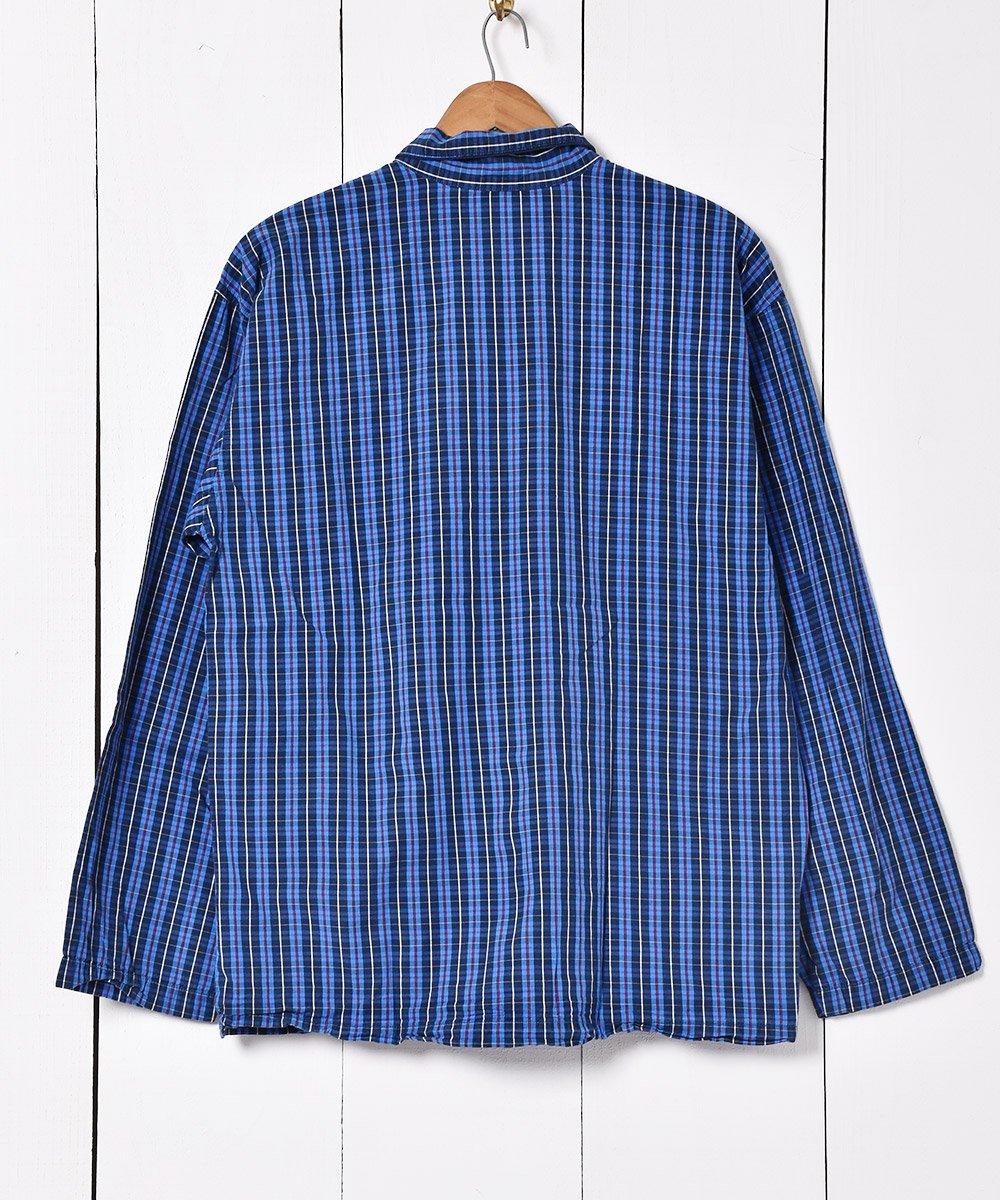 Ralph Lauren チェック柄 パジャマシャツ ブルーサムネイル