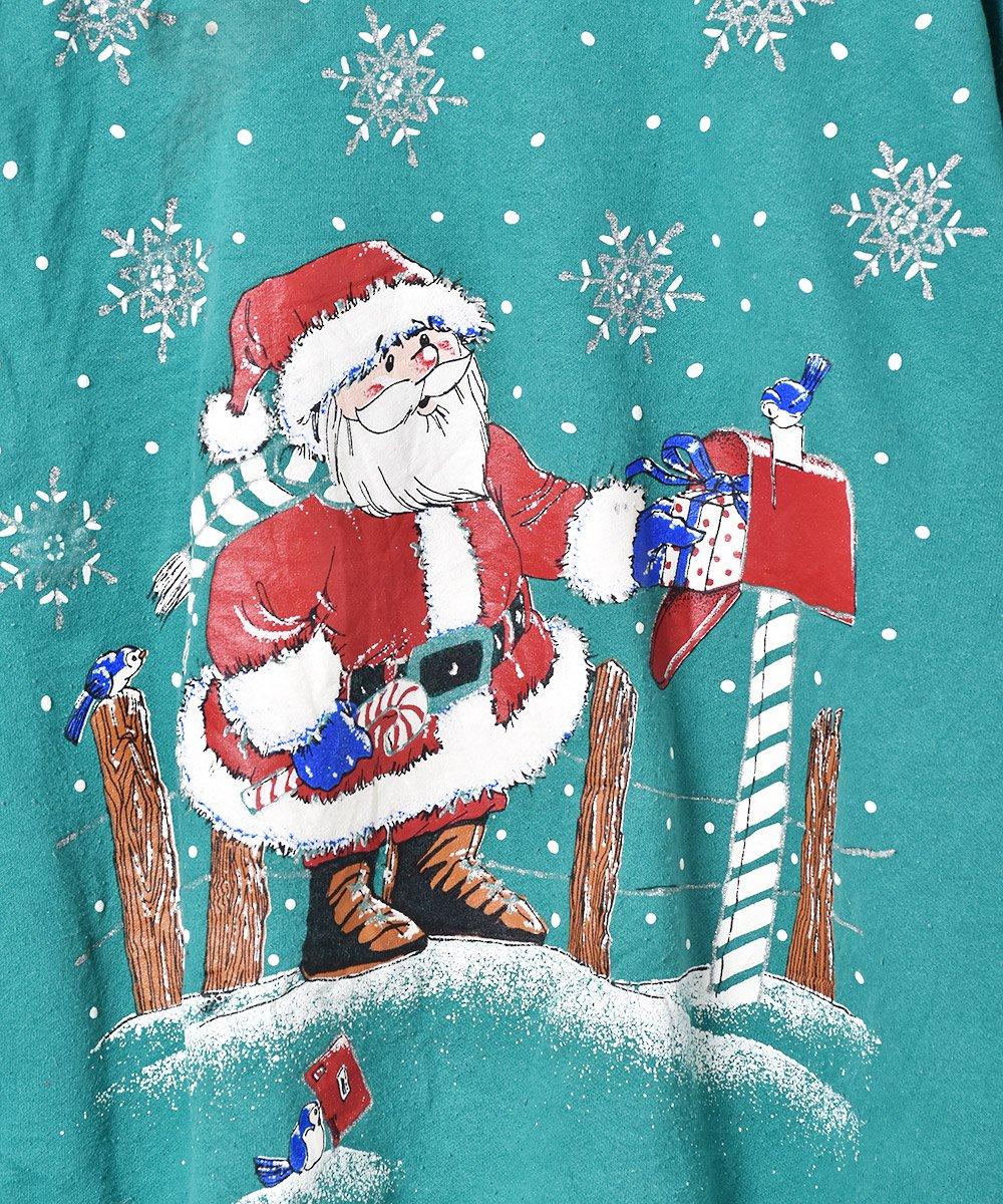 アメリカ製 クリスマス プリントスウェットサムネイル