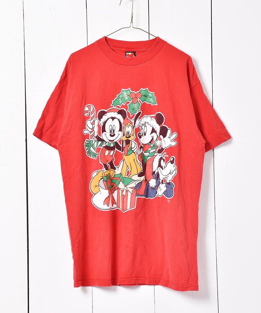 古着 MICKEY UNLIMITED クリスマス ディズニー プリントTシャツ  古着 ネット 通販 古着屋グレープフルーツムーン