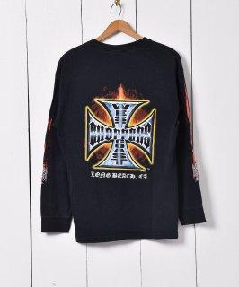 古着メキシコ製 英字プリント ロングスリーブTシャツ 古着のネット通販 古着屋グレープフルーツムーン