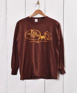 古着プリント コットン ロングスリーブTシャツ 古着のネット通販 古着屋グレープフルーツムーン