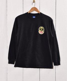 古着CERVEZA Imperial プリント コットン ロングスリーブTシャツ 古着のネット通販 古着屋グレープフルーツムーン