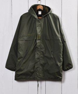 古着フランス軍 裏ボア付きフーデッドジャケット 古着のネット通販 古着屋グレープフルーツムーン