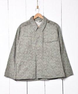 古着1971年製 チェコ軍 レインドロップカモ フィールドジャケット 古着のネット通販 古着屋グレープフルーツムーン