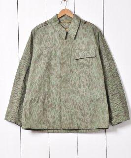 古着1964年製 チェコ軍 レインドロップカモ フィールドジャケット 古着のネット通販 古着屋グレープフルーツムーン