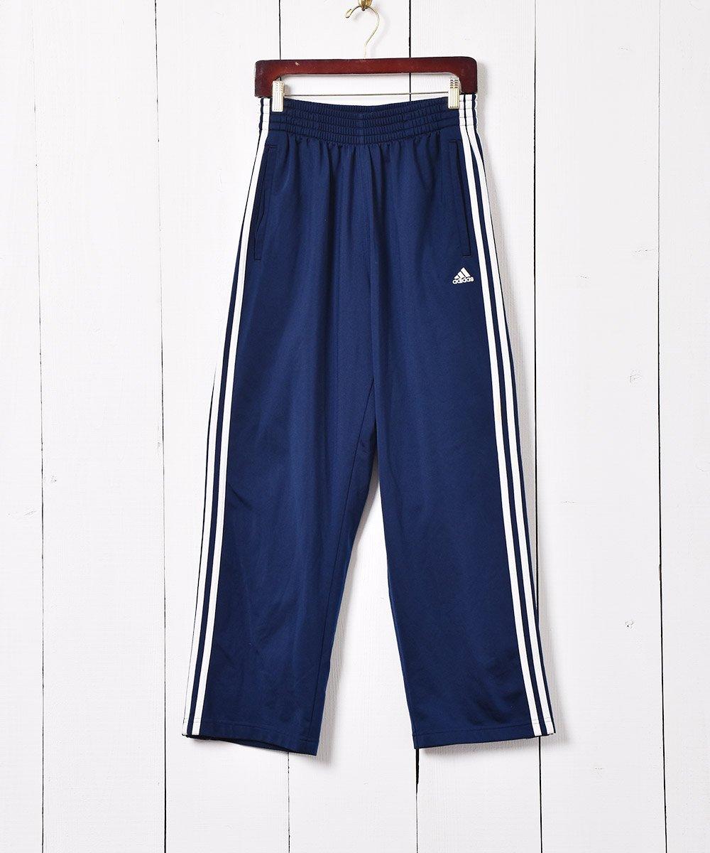 古着 addidas サイドスナップ ジョグパンツ 古着 ネット 通販 古着屋グレープフルーツムーン