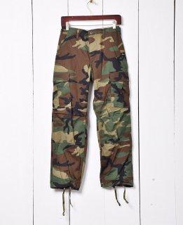 古着アメリカ軍 ウッドランドカモ柄 カーゴパンツ 01 古着のネット通販 古着屋グレープフルーツムーン
