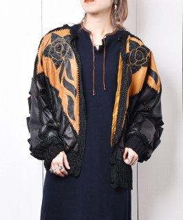 古着切り替え レザージャケット バラ 古着のネット通販 古着屋グレープフルーツムーン