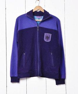 古着ドイツ軍 トレーニングウェア パープル 古着のネット通販 古着屋グレープフルーツムーン