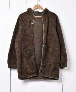 古着1992 フランス軍 フード付き ボアライナー 古着のネット通販 古着屋グレープフルーツムーン