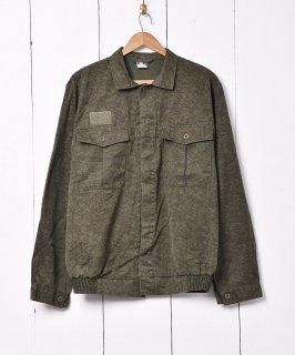 古着ポーランド軍 カモ柄 ミリタリージャケット 古着のネット通販 古着屋グレープフルーツムーン