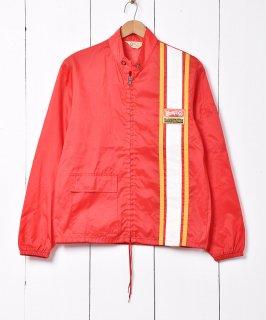 古着WENDY'S ナイロンレーシングジャケット 古着のネット通販 古着屋グレープフルーツムーン