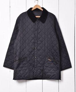 古着BARBOUR キルティングジャケット コーデュロイカラー 古着のネット通販 古着屋グレープフルーツムーン