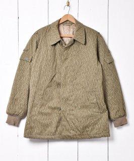 古着ドイツ軍 レインドロップカモフィールドジャケット キルティングライナー 古着のネット通販 古着屋グレープフルーツムーン