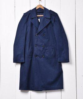 古着イタリア軍 ネイビー トレンチコート 古着のネット通販 古着屋グレープフルーツムーン