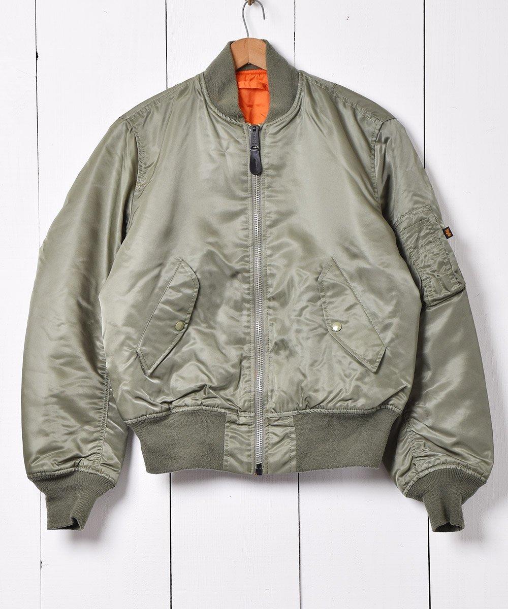 古着 アルファ MA-1 ジャケット 古着 ネット 通販 古着屋グレープフルーツムーン