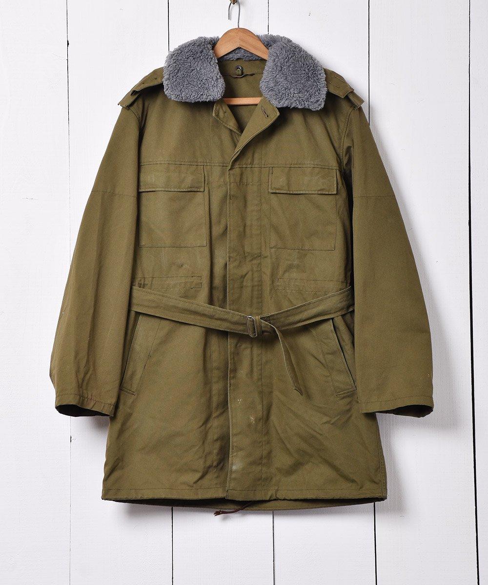 古着 1993年製 ボア襟付き チェコ軍フィールドジャケット 古着 ネット 通販 古着屋グレープフルーツムーン