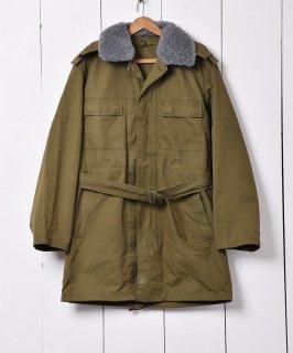 古着1993年製 ボア襟付き チェコ軍フィールドジャケット 古着のネット通販 古着屋グレープフルーツムーン