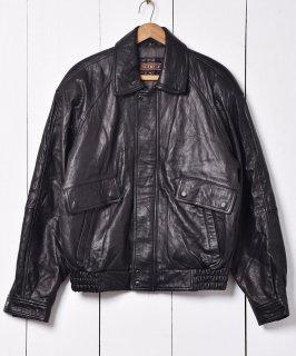 古着比翼仕立てシープスキン レザージャケット 古着のネット通販 古着屋グレープフルーツムーン