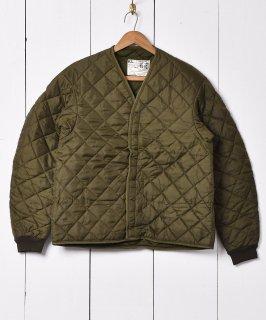 古着1976年 オランダ軍 キルティングライナー ミリタリーライナー 古着のネット通販 古着屋グレープフルーツムーン