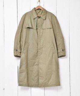 古着フランス製 中綿仕様 ステンカラーコート 古着のネット通販 古着屋グレープフルーツムーン