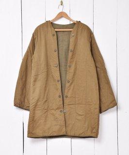 古着1963年製 チェコ軍 ミリタリーライナー ロング丈 古着のネット通販 古着屋グレープフルーツムーン
