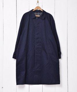 古着コットン地 ラグランスリーブ ステンカラーコート 古着のネット通販 古着屋グレープフルーツムーン