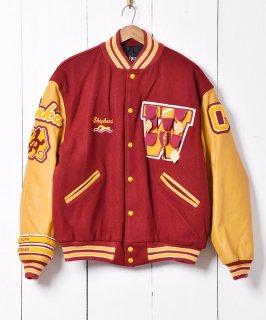 古着「BUTWIN」アメリカ製 レタード ワッペン 付き アワードジャケット 古着のネット通販 古着屋グレープフルーツムーン