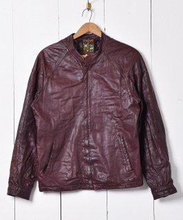 古着スタンドカラー レザージャケット 古着のネット通販 古着屋グレープフルーツムーン