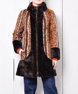 古着 60's〜70's「DeeDeeDeb」ヴィンテージ ゴブランコート 古着のネット通販 古着屋グレープフルーツムーン